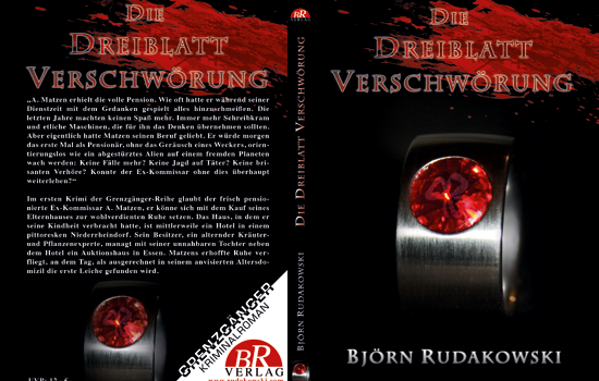 Cover & Layout Krimminalroman ± 200 S.