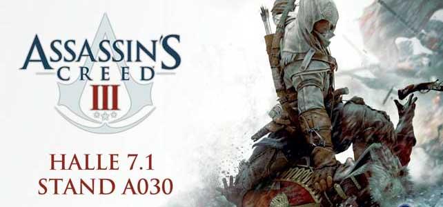 Größflächenwerbung: Assassin*s Creed