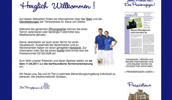 Tierarztpraxis – www.klaus-von-gierke.de