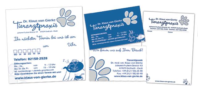 Drucksachen – Briefpapier & Co.
