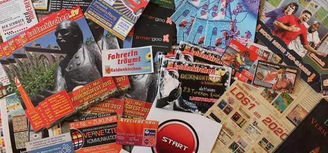 DTP: Anzeigen, Flyer, Magazine & Co.